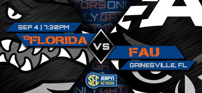 Florida vs. FAU: Pick, prediction, spread, odds, football game time, watch live stream, TV channel