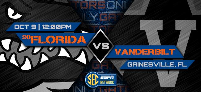 Florida vs. Vanderbilt: Pick, prediction, spread, odds, football game time, watch live stream, TV channel